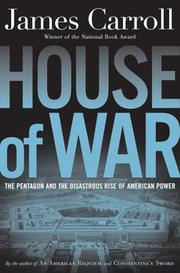 Book Cover for HOUSE OF WAR