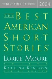 Cover art for THE BEST AMERICAN SHORT STORIES 2004