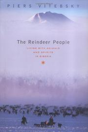 Cover art for THE REINDEER PEOPLE