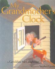 Cover art for MY GRANDMOTHER'S CLOCK