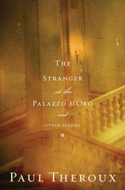 Cover art for THE STRANGER AT THE PALAZZO D'ORO