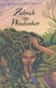 Cover art for ZAHRAH THE WINDSEEKER