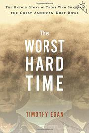 Book Cover for THE WORST HARD TIME