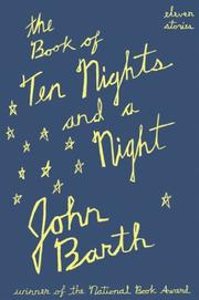 Book Cover for THE BOOK OF TEN NIGHTS AND A NIGHT