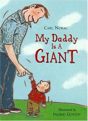 Book Cover for MY DADDY IS A GIANT