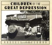 Book Cover for CHILDREN OF THE GREAT DEPRESSION