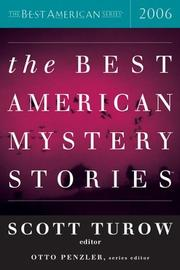 Cover art for THE BEST AMERICAN MYSTERY STORIES 2006