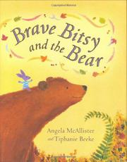 Cover art for BRAVE BITSY AND THE BEAR