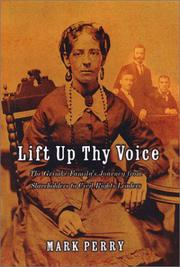 Book Cover for LIFT UP THY VOICE