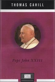 Cover art for POPE JOHN XXIII