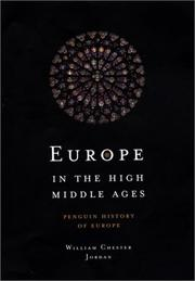 Book Cover for EUROPE IN THE HIGH MIDDLE AGES