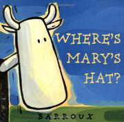 Cover art for WHERE'S MARY'S HAT?