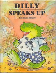 Book Cover for DILLY SPEAKS UP