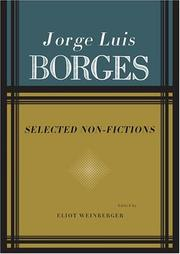 Cover art for SELECTED NON-FICTION