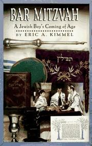 Book Cover for BAR MITZVAH