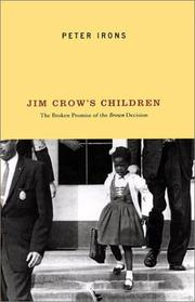 Cover art for JIM CROW'S CHILDREN
