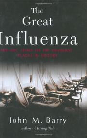 Cover art for THE GREAT INFLUENZA