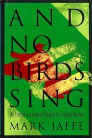 Cover art for AND NO BIRDS SING