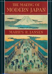 Book Cover for THE MAKING OF MODERN JAPAN