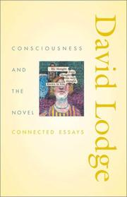 Cover art for CONSCIOUSNESS AND THE NOVEL