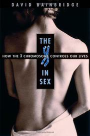Cover art for THE X IN SEX