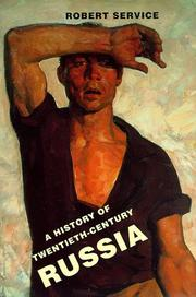 Cover art for A HISTORY OF TWENTIETH-CENTURY RUSSIA