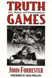 Cover art for TRUTH GAMES