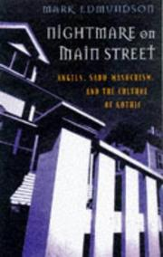 Cover art for NIGHTMARE ON MAIN STREET