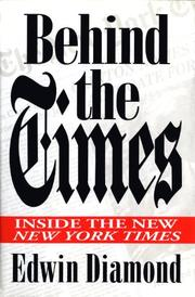 Book Cover for BEHIND THE TIMES
