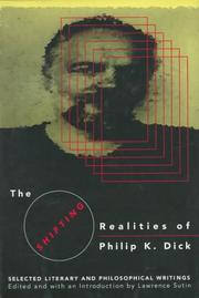 Cover art for THE SHIFTING REALITIES OF PHILIP K. DICK