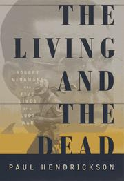 Cover art for THE LIVING AND THE DEAD
