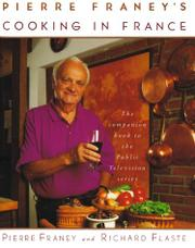 Cover art for PIERRE FRANEY'S COOKING IN FRANCE