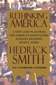 Book Cover for RETHINKING AMERICA