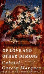 Book Cover for OF LOVE AND OTHER DEMONS