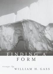 Cover art for FINDING A FORM