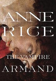 Book Cover for THE VAMPIRE ARMAND