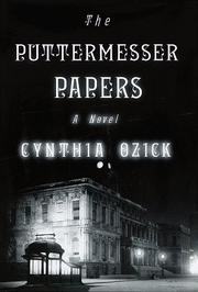 Book Cover for THE PUTTERMESSER PAPERS