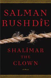 Cover art for SHALIMAR THE CLOWN