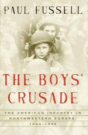 Cover art for THE BOYS' CRUSADE