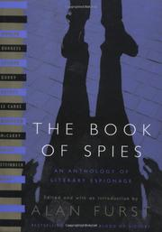Cover art for THE BOOK OF SPIES