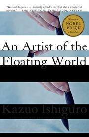 Cover art for AN ARTIST OF THE FLOATING WORLD