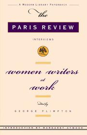 Cover art for WOMEN WRITERS AT WORK