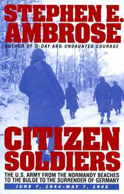 Book Cover for CITIZEN SOLDIERS