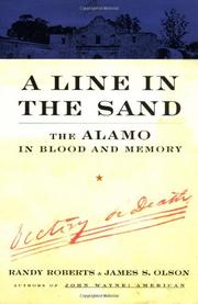 Book Cover for A LINE IN THE SAND