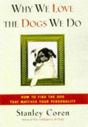 Cover art for WHY WE LOVE THE DOGS WE DO