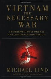 Book Cover for VIETNAM: THE NECESSARY WAR