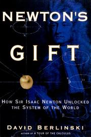 Book Cover for NEWTON'S GIFT