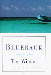 Cover art for BLUEBACK