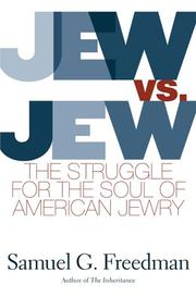 Book Cover for JEW VS. JEW
