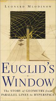Cover art for EUCLID'S WINDOW